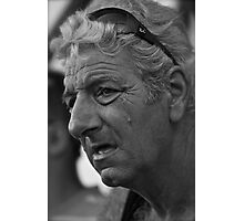 Faces of Greece . Veterans  captain   portrait  from  Santorin . by Brown Sugar . Views (304). Favs (3). Thank you very much dear friends !!! Photographic Print