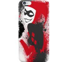 brush Harley Quinn brush iPhone Case/Skin