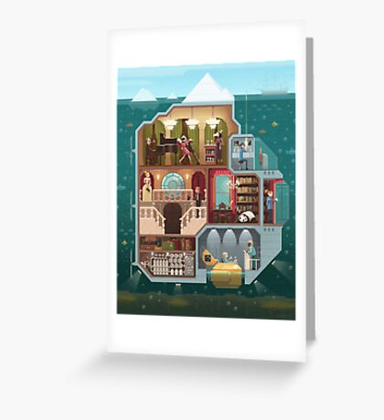 The tip of the iceberg Greeting Card