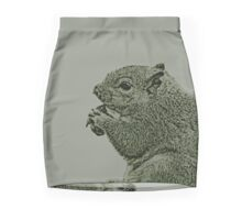Nutty Squirrel Showdown Mini Skirt