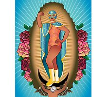 Lucha Guadalupe Photographic Print