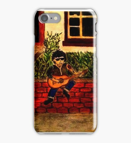 Lonely strummer 1 iPhone Case/Skin