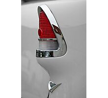 '55 Taillight Photographic Print