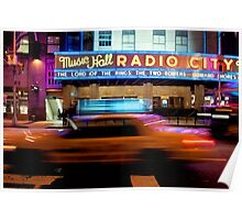 Taxi to Radio City Poster