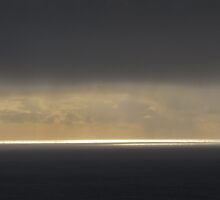 Sliver of Light...Waldport, Ore. by trueblvr