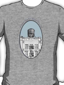 NYC-Water tower above SoHo building T-Shirt