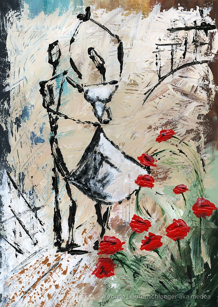 I promise you a rose garden by Yvonne Lautenschlaeger aka medea