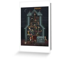 Midnight Carnival (Spooky October Edition) Greeting Card