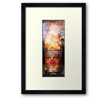The Blaze Framed Print