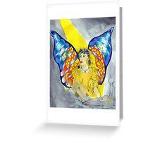The healing Angel Greeting Card