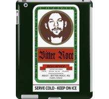Bitter Rocc Label iPad Case/Skin