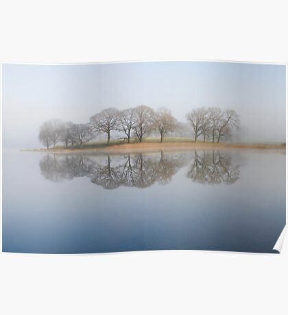 Esthwaite Reflections Poster