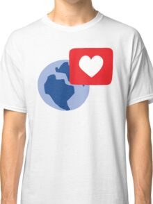 Love notification Classic T-Shirt