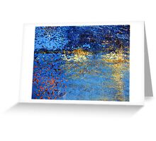 Twilight Reflections by the Lake Greeting Card