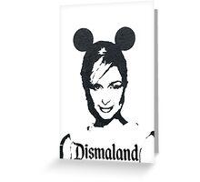 Paris Hilton Dismaland Greeting Card