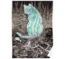 Ghost Cat Prowls Forever Poster