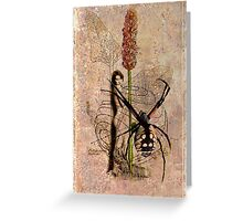 The spiderman is always hungry... Greeting Card