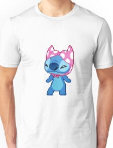 STITCH WEARING A BRA Unisex T-Shirt