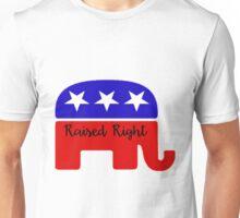 Raised Right Unisex T-Shirt