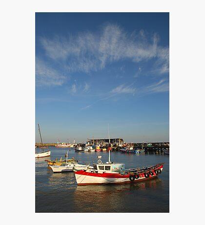 Bridlington harbour No 3  Photographic Print