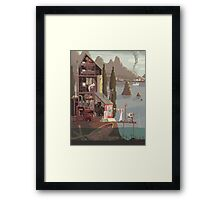 Scene #15: 'The Fisherman's Daughter' Framed Print