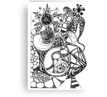 DOODLE 22 - LSD Canvas Print