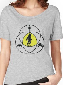 Man Bear Pig Venn Diagram Women's Relaxed Fit T-Shirt
