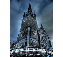Saintly Steeples Photographic Print