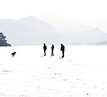 Snowblind - Derwent Water January 2010 by Andy Grant