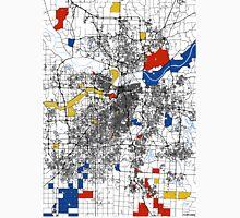 Kansas City Mondrian map Unisex T-Shirt