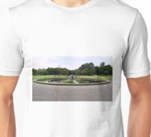 The Moonraker statue in the park. Unisex T-Shirt