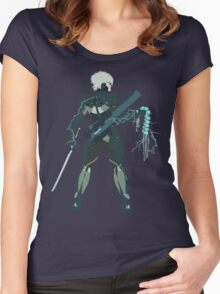 Raiden Vector Art - Metal Gear Solid/Rising Women's Fitted Scoop T-Shirt