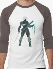 Raiden Vector Art - Metal Gear Solid/Rising Men's Baseball ¾ T-Shirt