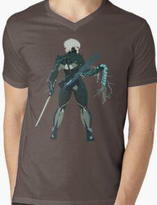 Raiden Vector Art - Metal Gear Solid/Rising Mens V-Neck T-Shirt