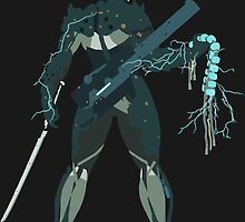 Raiden Vector Art - Metal Gear Solid/Rising by Cry0