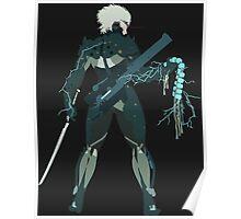 Raiden Vector Art - Metal Gear Solid/Rising Poster