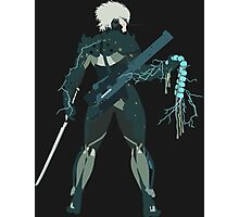 Raiden Vector Art - Metal Gear Solid/Rising Photographic Print