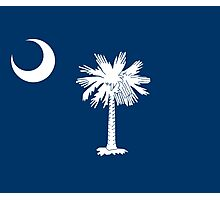 South Carolina State Flag Columbia Bedspread T-Shirt Sticker Photographic Print