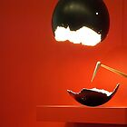 Egg Lamp  by Rebecca Staffin