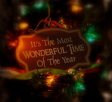 It's The Most Wonderful Time by Susan Vinson