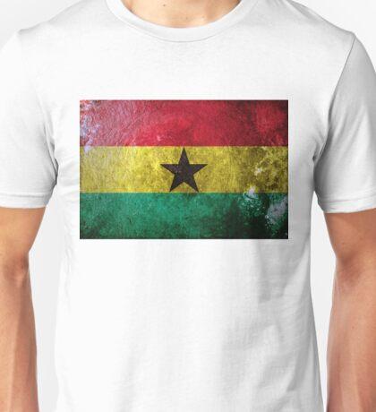 Ghana Grunge Unisex T-Shirt