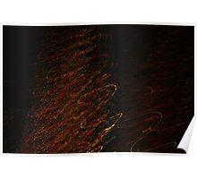 Suburb Christmas Light Series - Xmas Tree Poster