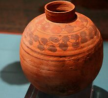 Meroitic Clay Pottery by Laurel Talabere