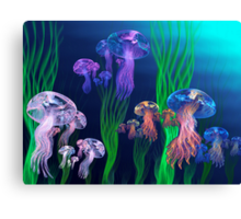 Apo Jelly Armada Canvas Print