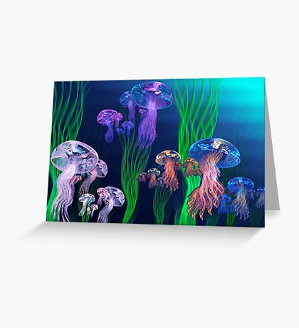 Apo Jelly Armada Greeting Card