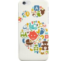 Kid a trace iPhone Case/Skin