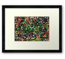 Jungle Twirls Framed Print