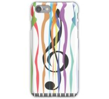 Piano & Colors iPhone Case/Skin