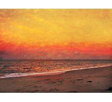 The Sky is Burnin' Photographic Print