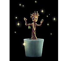 Little Groot and his Magic.  Photographic Print